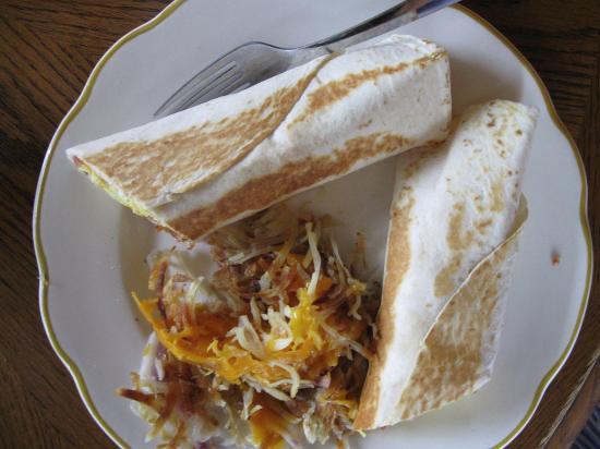ลาฟาแยต, อินเดียน่า: bacon, egg, and cheese wrap