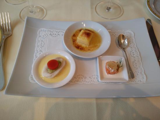 Bruneau Restaurant: Mises en Bouche