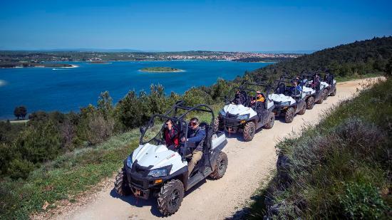 Banjole, Κροατία: Buggy Safari Pula