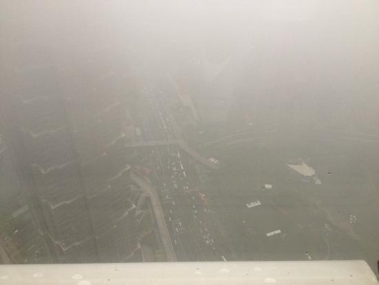 Park Hyatt Shanghai: Vue du 87 ème étage