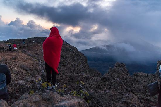 Kula, Hawái: Warten auf den Sonnenaufgang