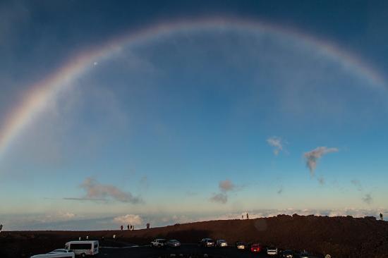 Kula, Hawái: Der Regenbogen, ein ständiger Begleiter auf Hawaii