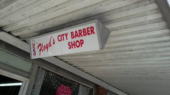 Barber Shops Near My Location : My husband in Heaven - Picture of Floyds City Barbershop, Mount Airy ...