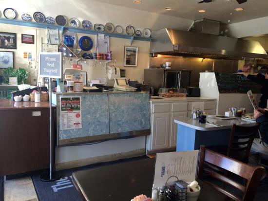 Barnstable, ماساتشوستس: Inside the Blue Plate Diner