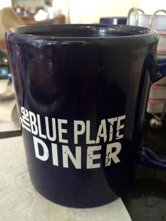 Barnstable, ماساتشوستس: Blue Plate Diner mug