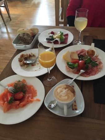 Diessen, Alemania: Frühstück für 2