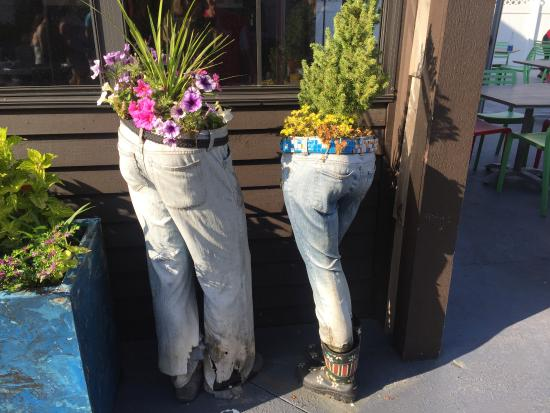 Broadway at the Beach: Unique planters