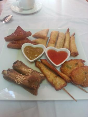 Mildenhall, UK: starter platter for 2