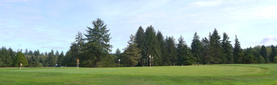Raymond, WA: looking west from the clubhouse.