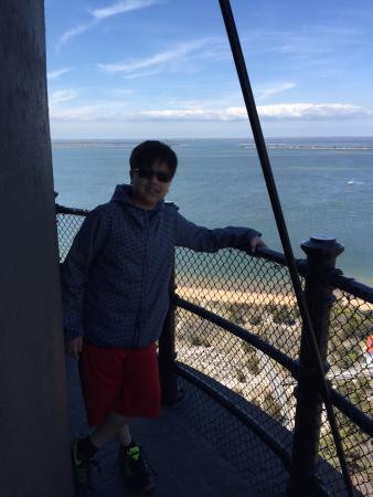 Fire Island Lighthouse: Beautiful lighthouse and walking path