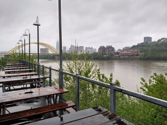 Bellevue, KY: view from patio