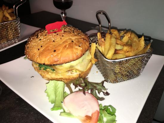Issy-les-Moulineaux, Francia: burger coco