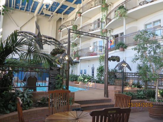 Hotel L'Oiseliere - Levis: Pool area