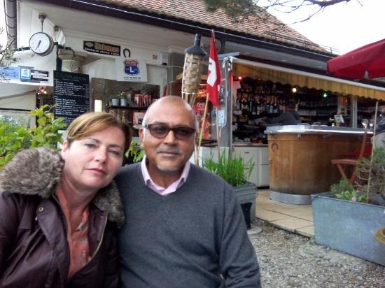 Lutry, Szwajcaria: Claire & Kamal
