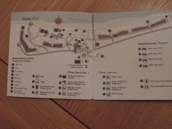 map - Picture of Akumal Bay Beach & Wellness Resort, Akumal ...