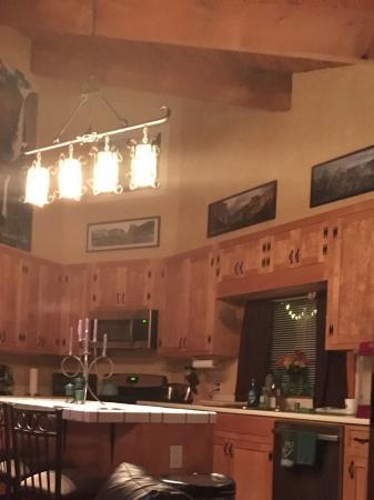 Evergreen Haus: Well stocked kitchen