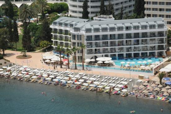 Hotel Marbella: Marbella beach side