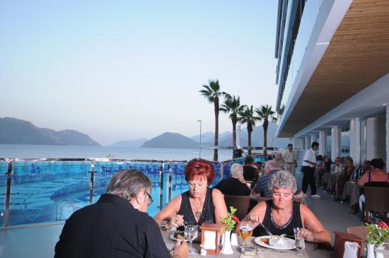Hotel Marbella: Marbella meal time