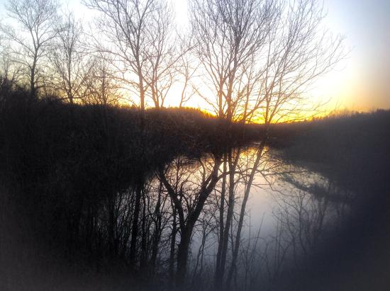 Spooner, WI: Sunset