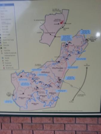Zululand, Zuid-Afrika: Der Park