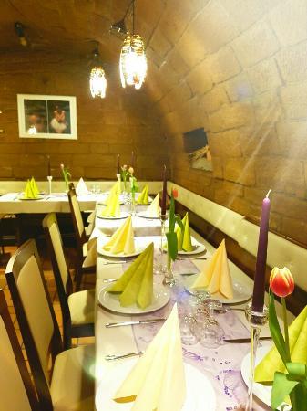 Oberderdingen, Tyskland: Pizzeria Zum Schwanen