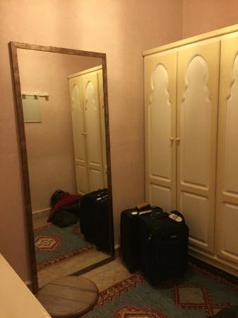 Hotel Dar Zitoune: Separate Dressing Room