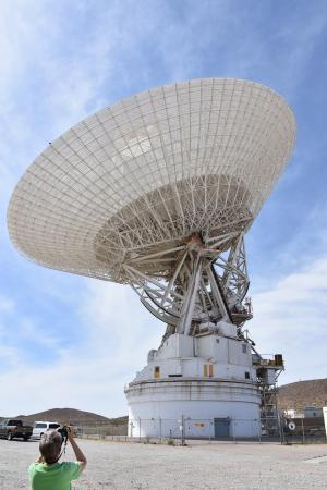 Fort Irwin, CA: Largest Antenna  in the world.