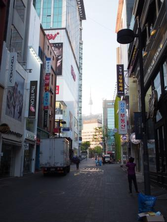 seoul pacific hotel view from myeongdong shopping alley picture rh tripadvisor co za