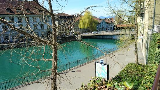 Thun - Reber - view towards river and Old Town