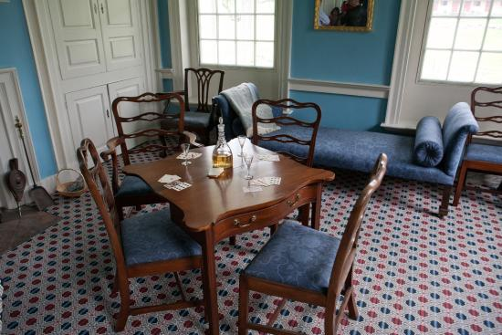 Rock Ford Plantation: The rooms are staged with antiques based on an inventory of Hand's property.