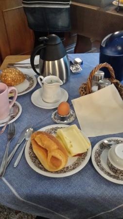 Bayerischer Hof: Café da manhã