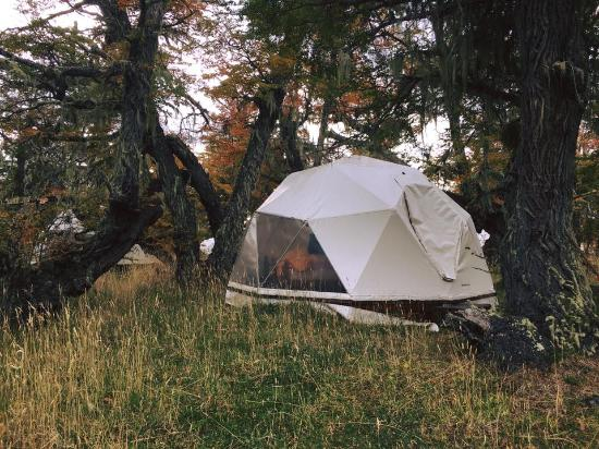 Adventure Domes Ecocamp Patagonia: The dome I stayed in