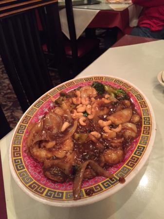 Menomonee Falls, WI: Harvey Moy's Szechwan Shrimp