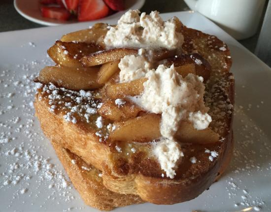 Glen Burnie, MD: Absolutely delish! So fresh and balanced! French toast to die for...crab & eggs yummy! Whole gra