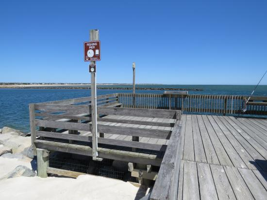 Fishing Pier Picture Of Bass River Beach South Yarmouth Tripadvisor