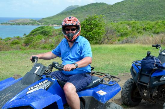 Serenity Vacations and Tours: This year, Hans arranged for us to go on an ATV adventure!