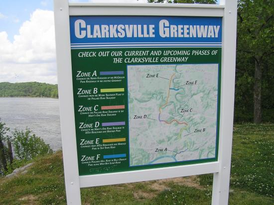 Clarksville, TN: A greenway being done in phases