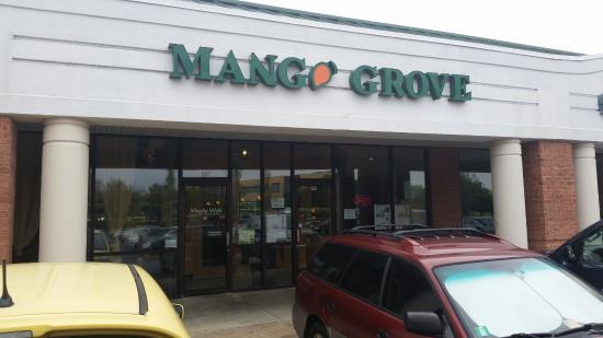Κολούμπια, Μέριλαντ: Mango Grove Indian Restaurant located at 8865 Stanford Blvd. Columbia, Maryland