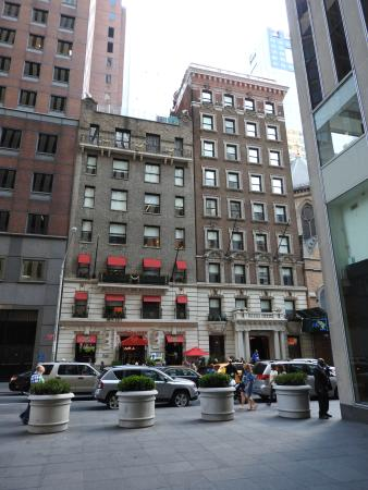Sanctuary Hotel New York: View from across 47th St