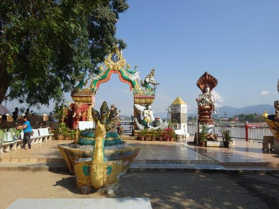 Chiang Saen, Thailand: Tripoint area