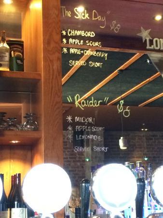 Timaru, Selandia Baru: Some cocktail choices.