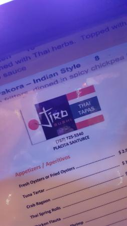 Jiro Sushi & Thai Tapas
