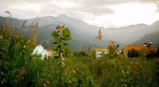 Mary's Residence Suites: Вид на горы за поселком