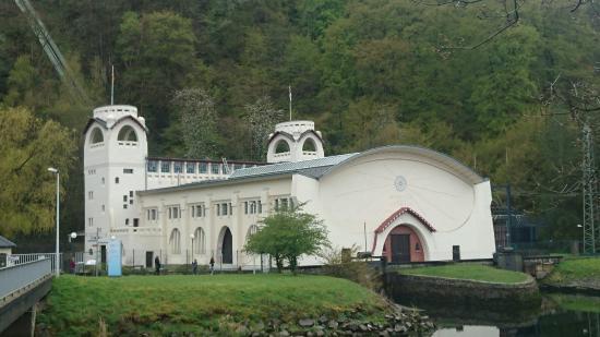 Jugendstil-Wasserkraftwerk Heimbach
