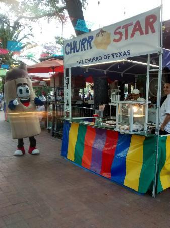 San Antonio Market Square Churro Star
