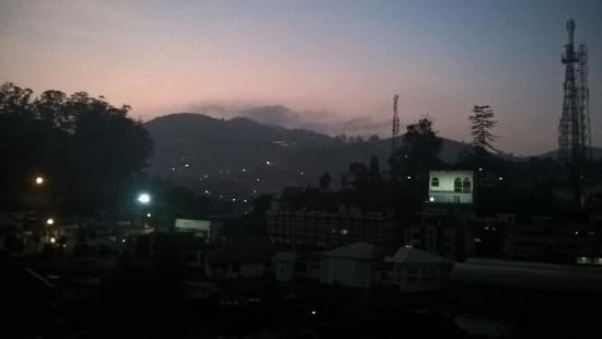 Nahar's Nilgiris Hotel: Morning view