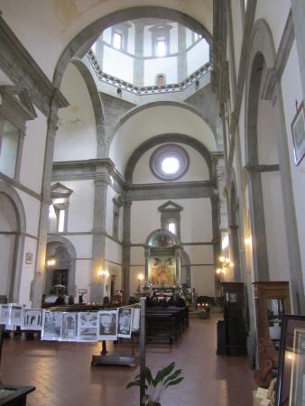 Santa Maria del Calcinaio: Il luminosissimo interno