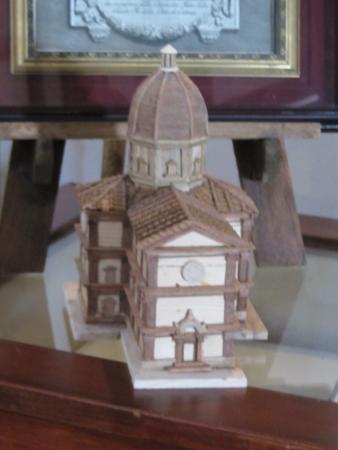 Santa Maria del Calcinaio: Riproduzione Lignea