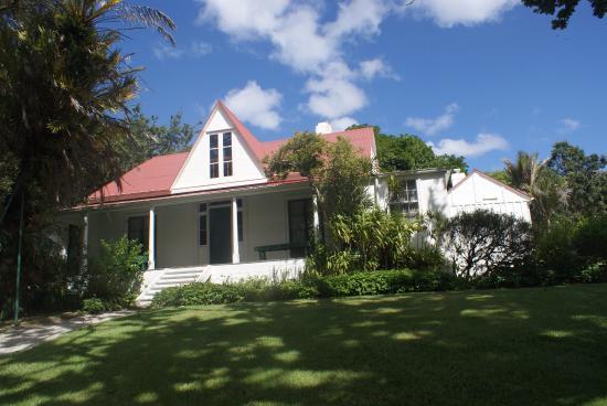 Rawene, Nova Zelândia: Clendon House.