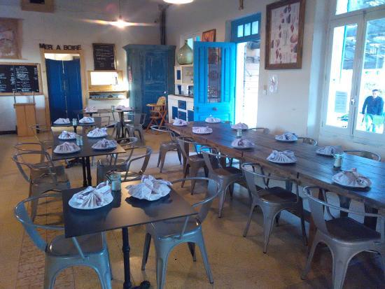 La Palme, فرنسا: Salle à manger intérieure